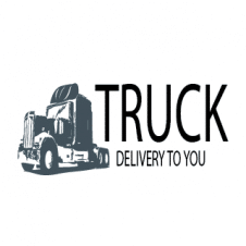 Truck Delivery Logo Vector images