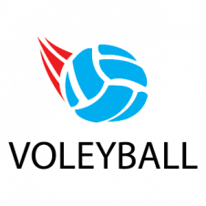 VOLEYBALL Sport Logo Vector images