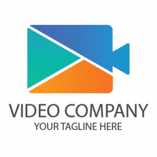 Video Company Logo Vector images