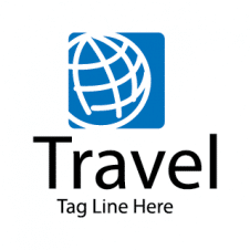 World Travel Tours Vector Logo Design images