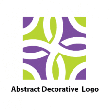 Abstract Decorative Colored Square Logo images
