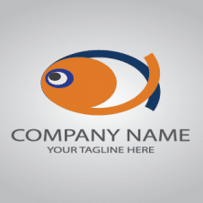 Abstract Fish Logo Vector images