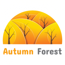 Autumn Forest Logo Vector images