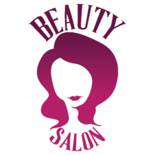 Beauty Salon Decor Logo Vector images