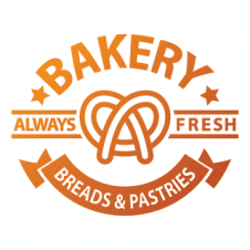 Best Family Foods Bakery Logo Vectors images