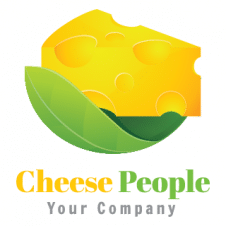 Cheese People Logo Vector images