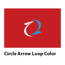 Circle Arrow Loop Color Vector Logo Vector images