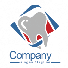 Dental  Vector logo Design Free images