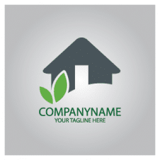 Eco Home Logo Vector images