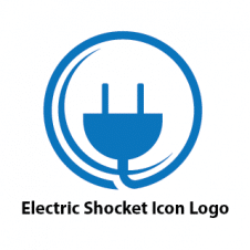 Electric Shocket Icon Business Logo images