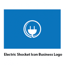 Electric Shocket Icon Business Logo Vector images
