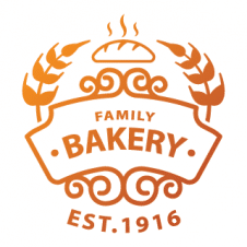 Family Bakery Logo Vector Design images