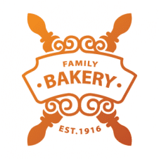 Family Foods Bakery Icon Logo Vector images