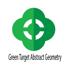 Green Target Abstract Geometry Logo Vector images