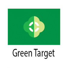 Green Target Abstract Geometry Logo Vector Design images
