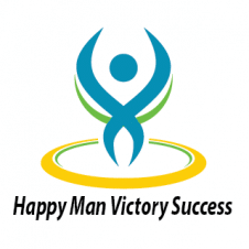 Happy Man Victory Success Logo images
