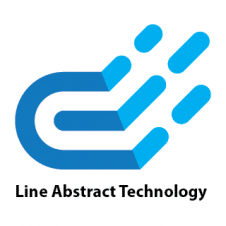 Line Abstract Technology Vector Logo images