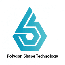 Polygon Shape Technology Logo images