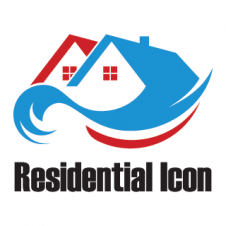 Residential Icon Logo Vector images