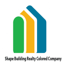 Shape Building Realty Colored Company Logo images