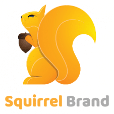 Squirrel Brand Logo Vector images