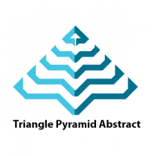 Triangle Pyramid Abstract Line Business Logo images