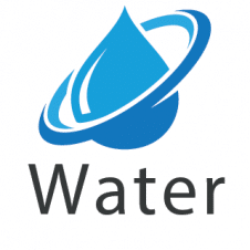 Water Save Logo Vector images