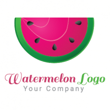 Watermelon Logo Vector images