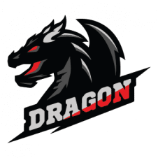 Dragon vector logo template images