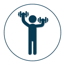 Exercise Logo Vector Template images