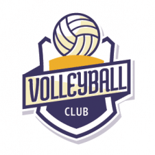 Volleyball Club Vector Logo Template images