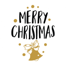 Merry Christmas Vector Logo images