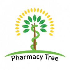 Pharmacy Tree Logo Vector images