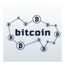 Bitcoin Network Logo Vector images