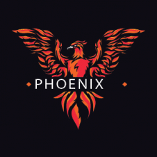 Creative Powerful Phoenix Logo images