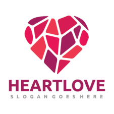 Heart Love Logo Vector images
