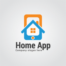 House App Logo Vector images