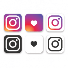 Instagram Vector Logo Collection images