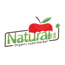 Organic Supermarket Logo Vector images