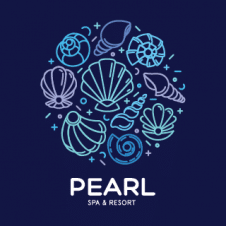 Pearl Spa And Resort Logo images