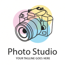 Photo Studio Vector Logo images