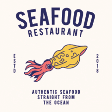 Sea Food Restaurant Logo images