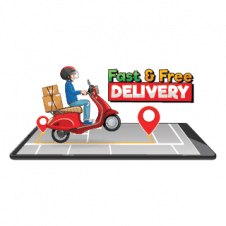 Delivery App Logo Vector images