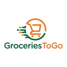 Grocery Delivery Logo Vector images
