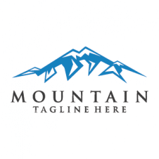 Snow Mountain Logo Vector images