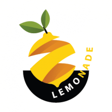 3d Lemon Cut Drawing Logo Vector images