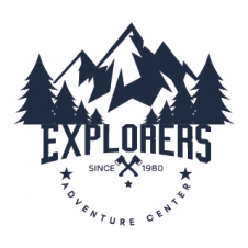 Adventure Explorer Logo Vector images