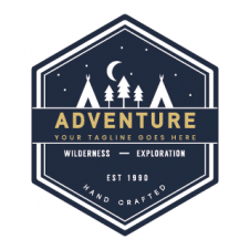 Adventure Wilderness Logo Vector images