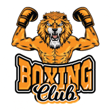 Boxing Gym Lion Logo Vector images