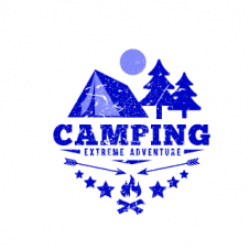 Camping Club Outdoor Logo Vector images